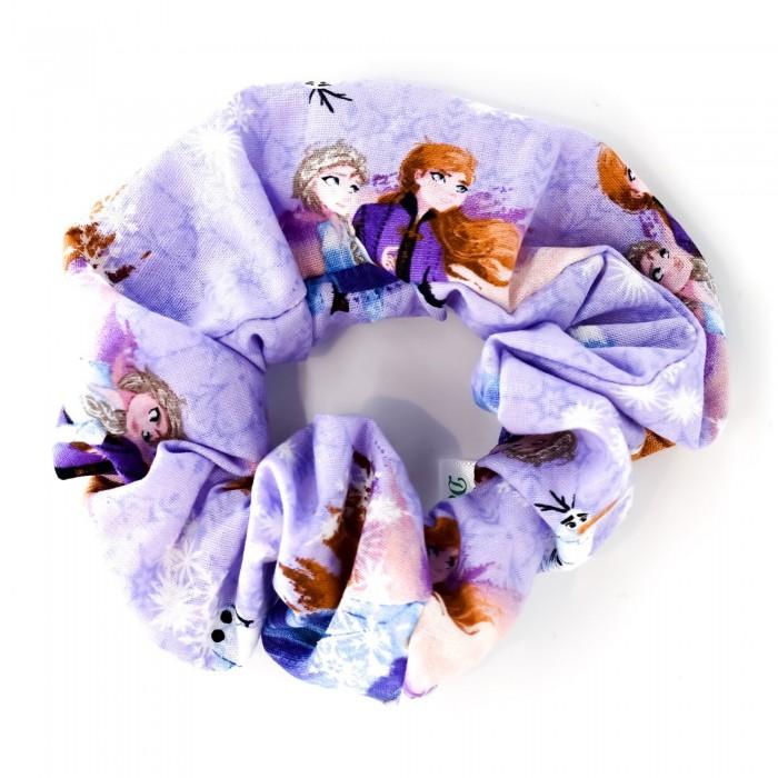 Chouchou avec motif de reine des neiges